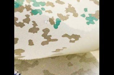 Çantalar için su geçirmez 1000d naylon dupont cordura kumaş